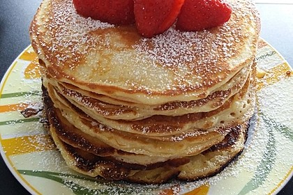 Amerikanische Pancakes 13