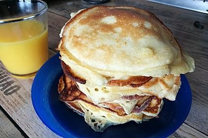 Amerikanische Pancakes 76