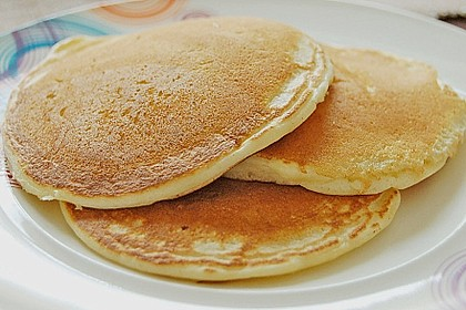 Amerikanische Pancakes 20