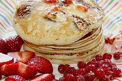 Amerikanische Pancakes 40