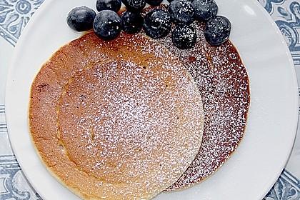 Amerikanische Pancakes 34