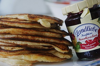 Amerikanische Pancakes 234
