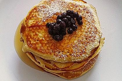 Amerikanische Pancakes 44