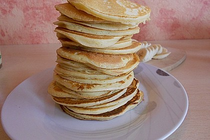 Amerikanische Pancakes 36