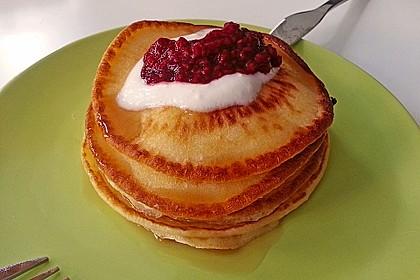 Amerikanische Pancakes 42