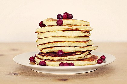 Amerikanische Pancakes 5