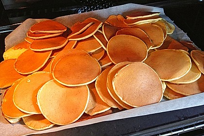 Amerikanische Pancakes 30