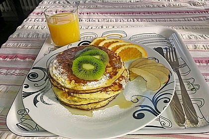 Amerikanische Pancakes 47