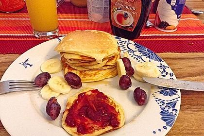 Amerikanische Pancakes 114