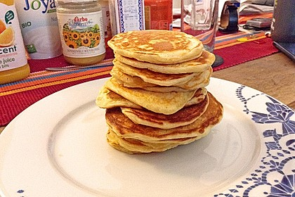 Amerikanische Pancakes 201
