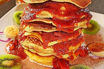 Amerikanische Pancakes 12