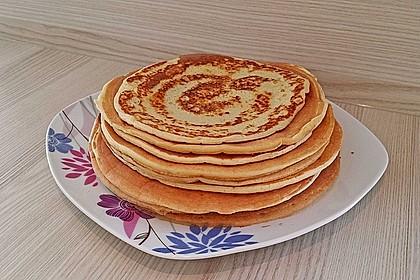Amerikanische Pancakes 60