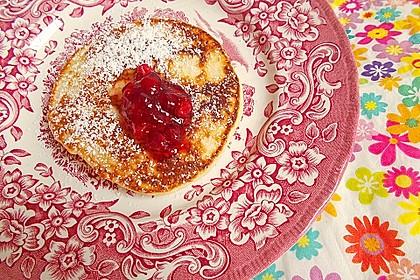 Amerikanische Pancakes 220