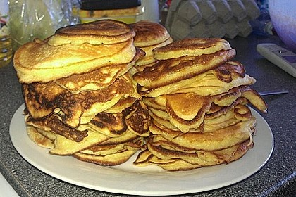 Amerikanische Pancakes 124