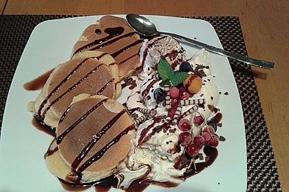 Amerikanische Pancakes 11