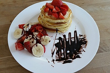 Amerikanische Pancakes 3