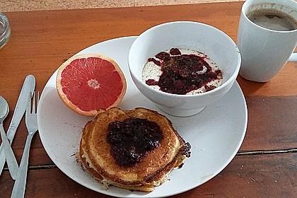 Amerikanische Pancakes 130
