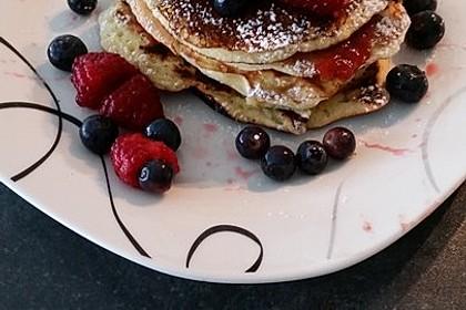 Amerikanische Pancakes 6
