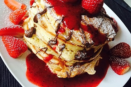 Amerikanische Pancakes 31