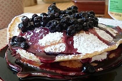 Amerikanische Pancakes 9