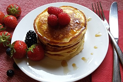 Amerikanische Pancakes 4