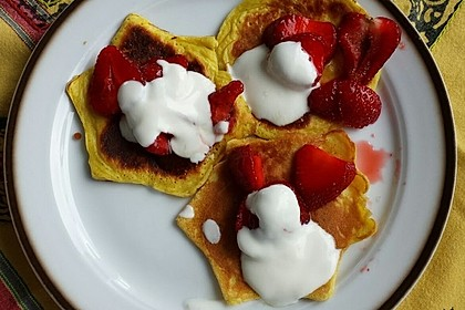 Amerikanische Pancakes 39
