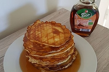 Amerikanische Pancakes 140