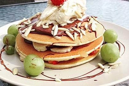 Amerikanische Pancakes 2