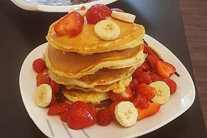 Amerikanische Pancakes 48