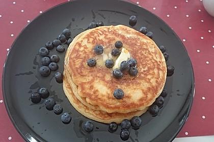 Amerikanische Pancakes 16