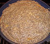 Mohn - Streusel  mit Pudding und Mandarinen (Bild)