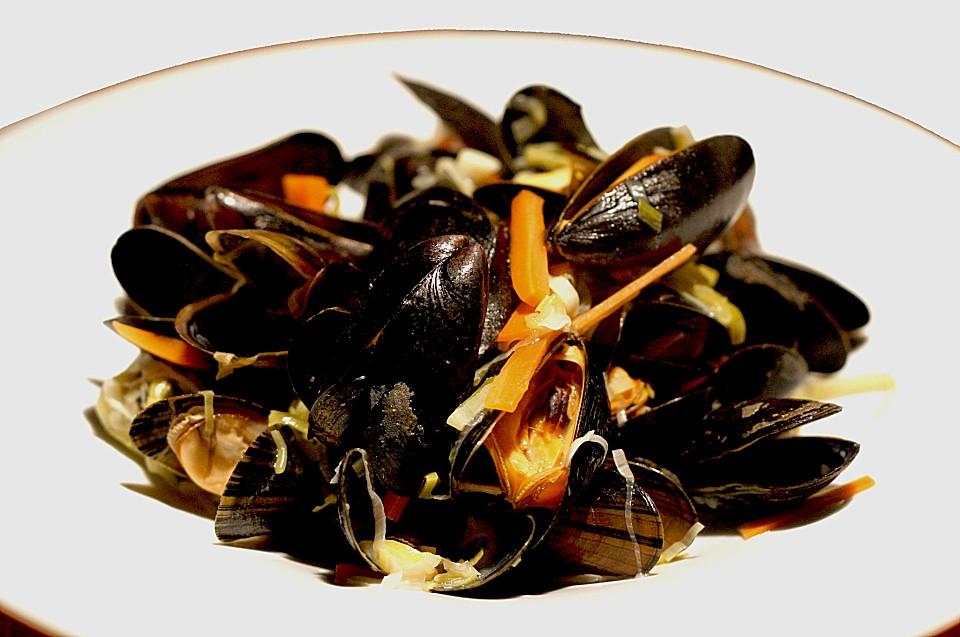 Frankreich herbst rezepte mit miesmuscheln kochen - Miesmuscheln kochen ...