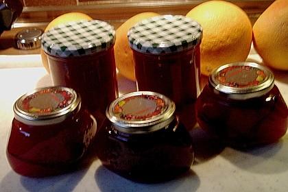 Pflaumenmarmelade mit Rotwein und Zimt 19