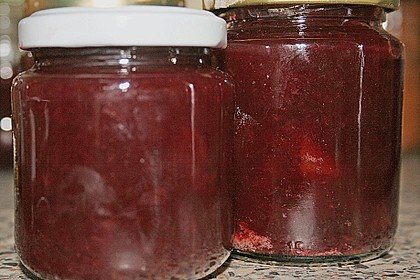 Pflaumenmarmelade mit Rotwein und Zimt 15