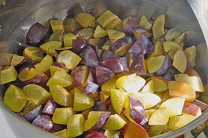 Pflaumenmarmelade mit Rotwein und Zimt 11