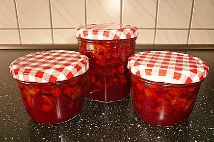 Pflaumenmarmelade mit Rotwein und Zimt 5