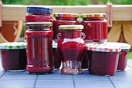 Pflaumenmarmelade mit Rotwein und Zimt 18