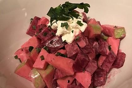 Rote Bete - Apfel - Salat 16
