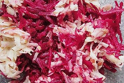 Rote Bete - Apfel - Salat 29