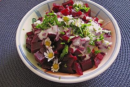 Rote Bete - Apfel - Salat 3