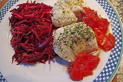 Rote Bete - Apfel - Salat 17