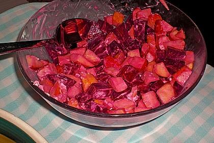 Rote Bete - Apfel - Salat 30