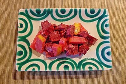 Rote Bete - Apfel - Salat 6