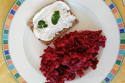 Rote Bete - Apfel - Salat 14