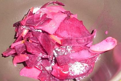 Rote Bete - Apfel - Salat 33