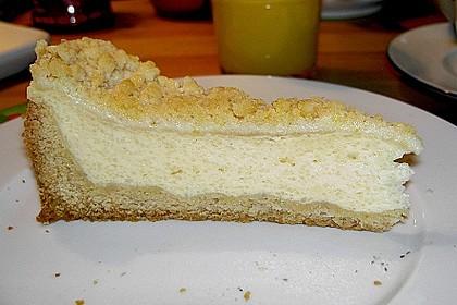 Käsekuchen mit Pudding , Grieß und Streuseln 4