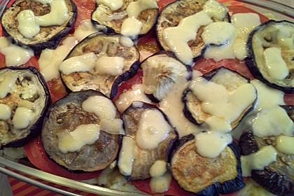 Auberginen - Kartoffel - Auflauf mit Hackfleisch 5