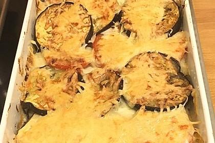 Auberginen - Kartoffel - Auflauf mit Hackfleisch 7