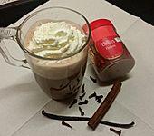 Scharfe und heiße Schokolade