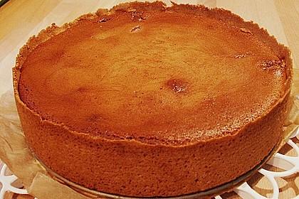 Birnen - Quark - Kuchen zartbitter